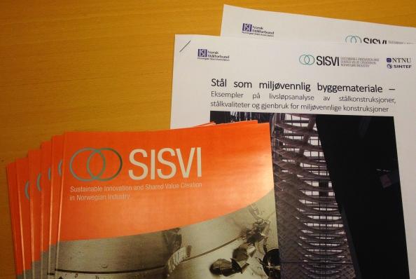 SISVI represented at NorskStåldag